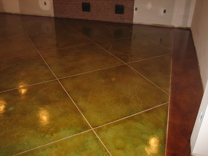 Interior floors for Painting indoor concrete floors